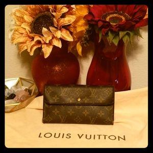 Louis Vuitton Wallet- Authentic